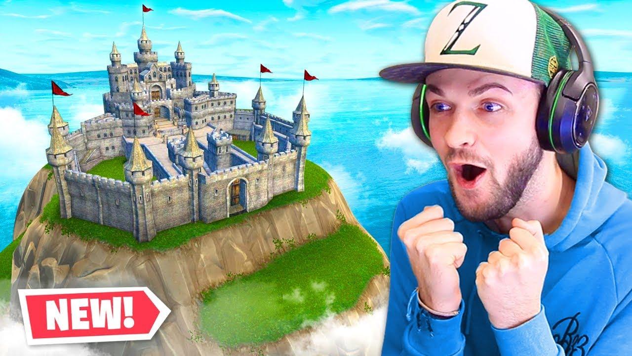 The New Fortnite Castle Youtube