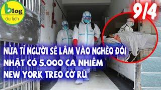 Dịch Covid-19 hôm nay 9/4: Toàn thế giới 1.484.811 ca nhiễm, 88.538 ca tử vong