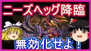 【パズドラ】 ゼウスヴァースでニーズヘッグ降臨壊滅級!