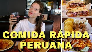 Comida Rápida Peruana en Lima, Perú | La Sanguchería, Pollería Pardos y Bembos Hamburguesas