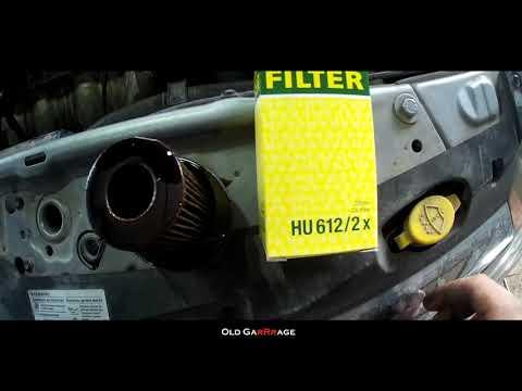 Замена масла в двигателе Opel Asta H (Опель Астра)