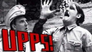 Upps! Adolf verbrennt sich die Hand