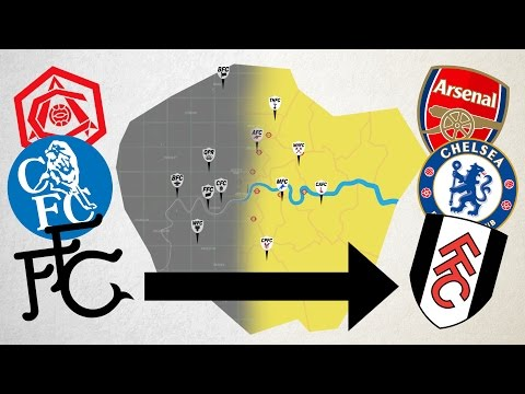 How London Became The Home Of Football - Animated