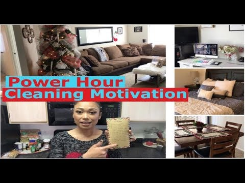 POWER HOUR CLEANING MOTIVATION 2017 || Clean With Me || Marites Rishe