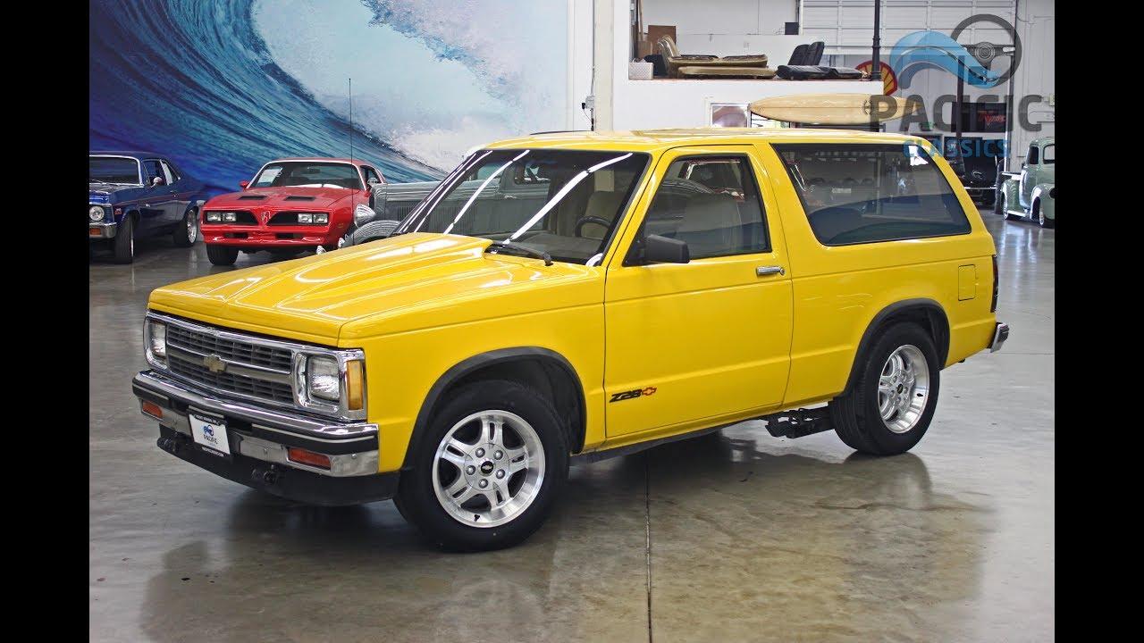 1987 Chevrolet S10 Blazer 6spd V8