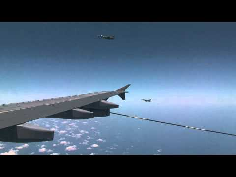 Canadian tanker refuel French, British and Italian aircrafts over Libya