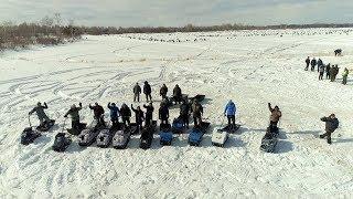 Вперше в Сибіру! Крос на мотобуксировщиках на Фестивалі ''Народна рибалка-2019'', Томськ