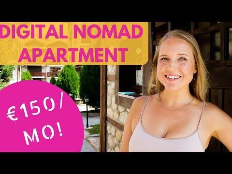 €150/Month Digital Nomad Apartment Tour In Bulgaria