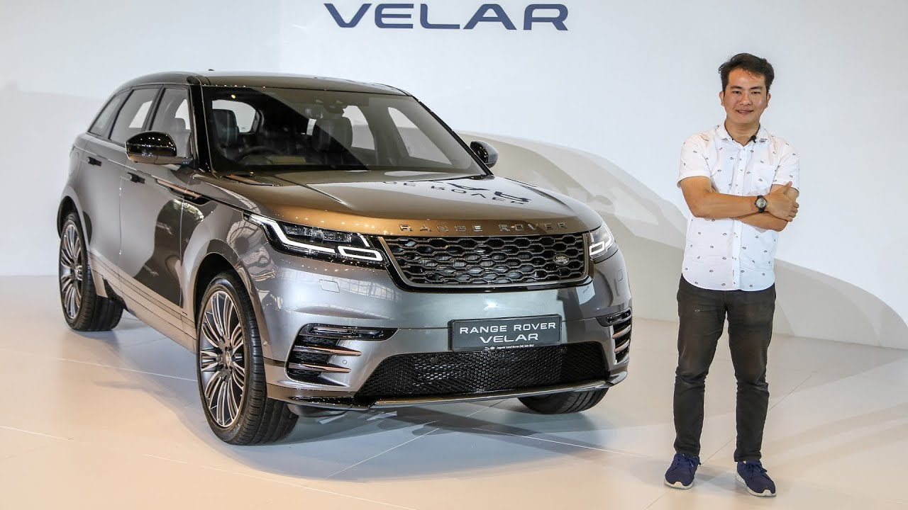 First Look Range Rover Velar In Malaysia From Rm530k Youtube