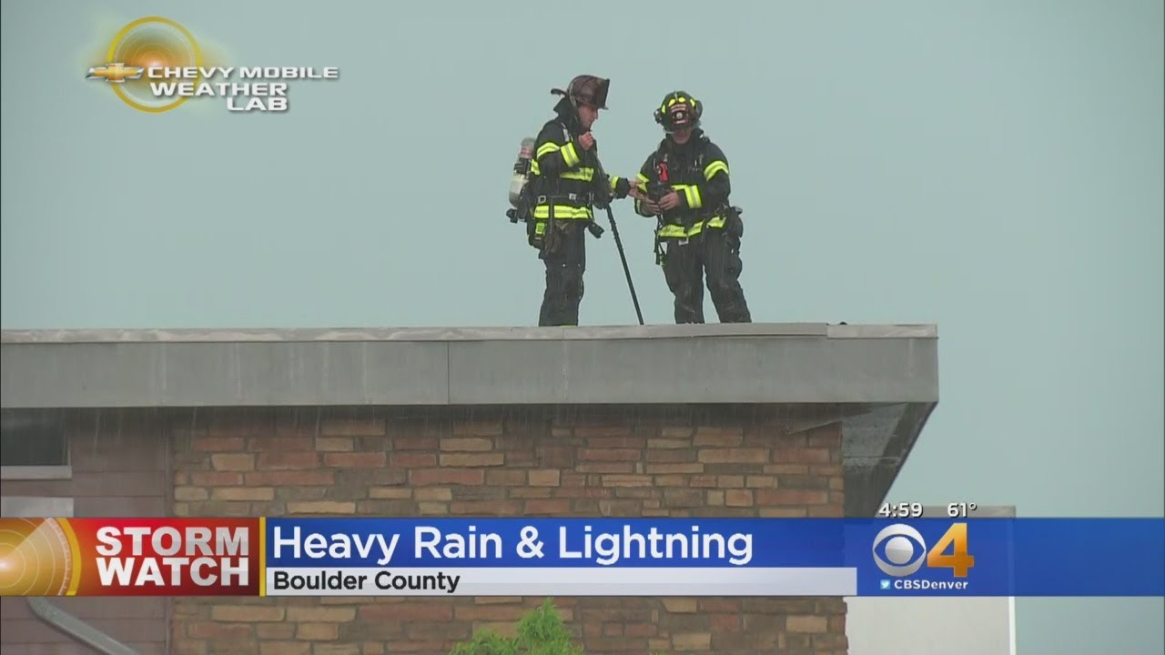 Hail, Lightning, Thundersnow Moves Into Colorado