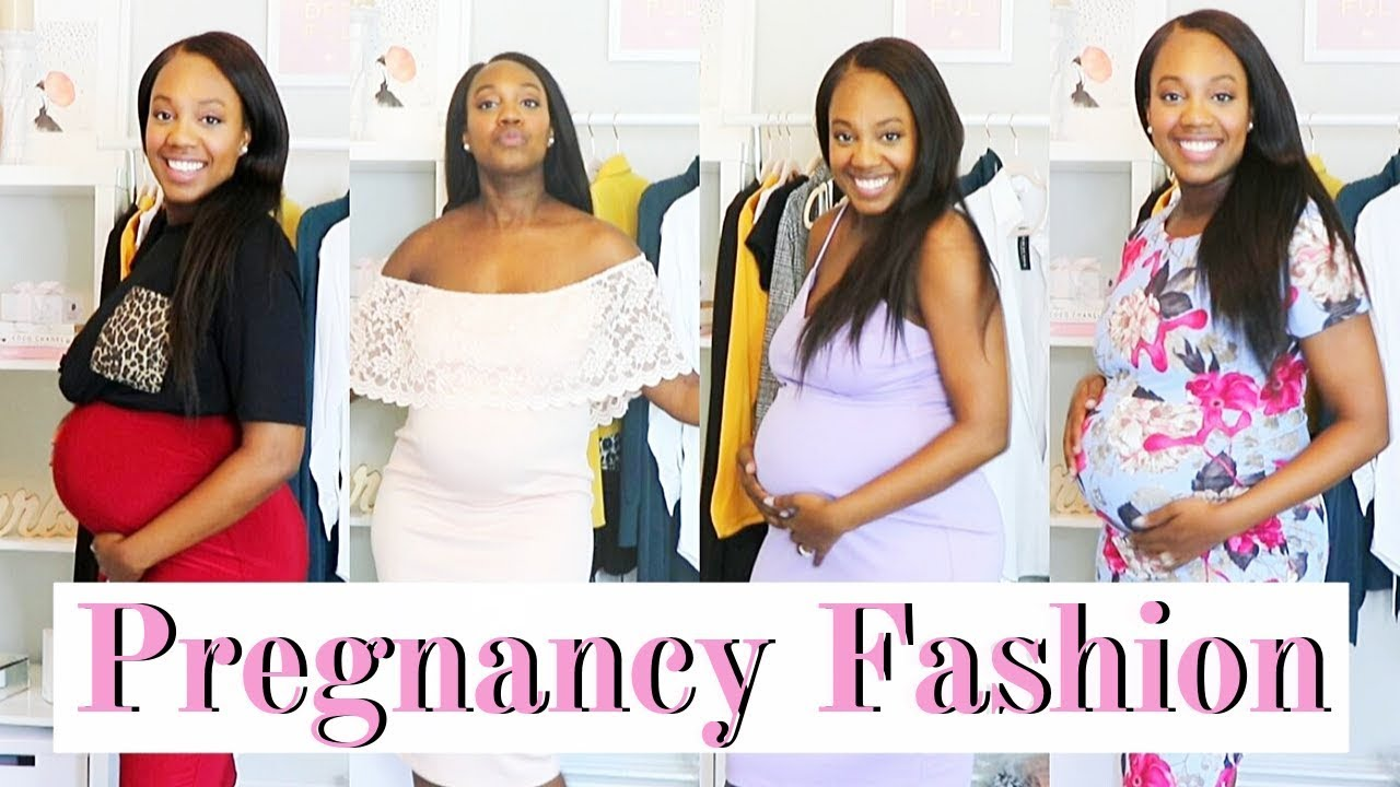 [VIDEO] - PREGNANCY TRY ON | Affordable & Cute Maternity Outfit Ideas 5