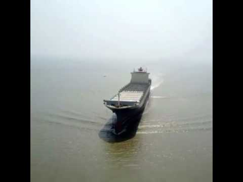 CONTAINER SHIP AT PAKISTAN