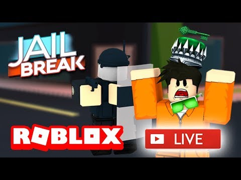😃 ROBLOX JAILBREAK LIVE STREAM! 😃 | ROAD TO 3.4K SUBSCRIBERS!! | ROBLOX Live 🔴
