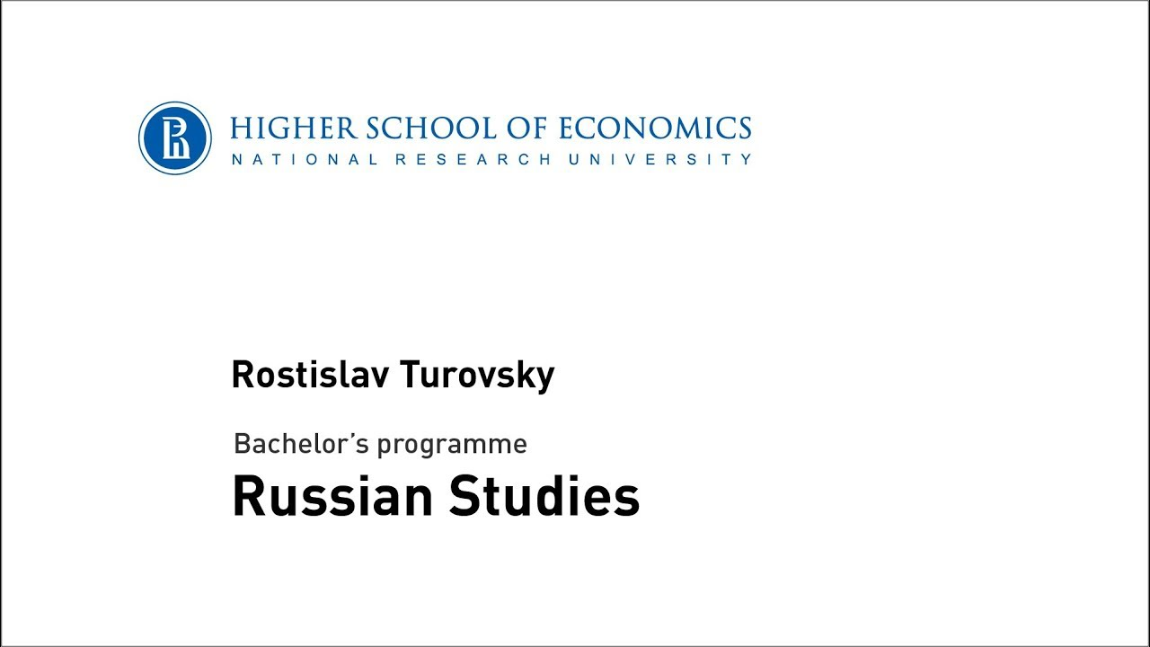Bachelor's programme in Russian Studies