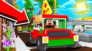 DELIVERING PIZZA IN MINECRAFT! with RageElixir - Minecraft Pizza Delivery Simulator
