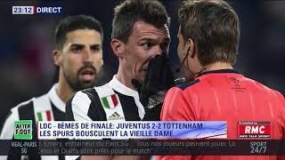 After Foot du mardi 13/02 – Partie 2/4 - Débrief de Juventus/Tottenham (2-2)
