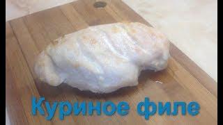 Запеченная куриная грудка с чесноком филе в духовке
