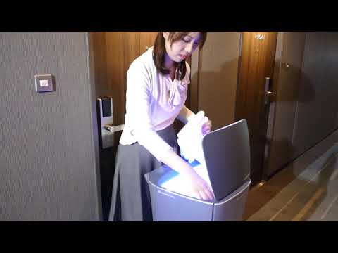 Demonstration of a delivery robot at Shinagawa Prince Hotel N Tower [RAW VIDEO]