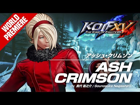 KOF XV ASH CRIMSON Trailer #28