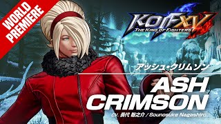 KOF XV|ASH CRIMSON|Trailer #28