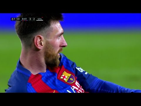 Lionel Messi vs Valencia (Home) 16-17 HD 1080i By IramMessiTV