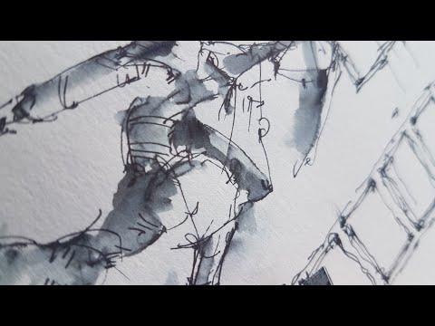 Скетчинг - как нарисовать человека, Мой скетчбук, творчество и хобби. Пропорции. Эдуард Кичигин