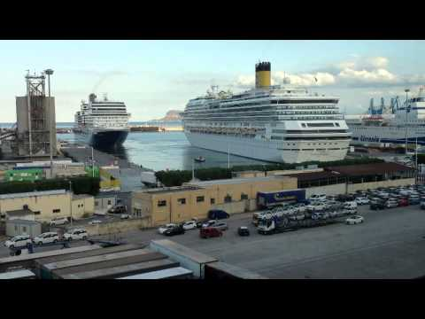 Port of Palermo (Sicily - Italy) - HOLLAND AMERICAN LINES