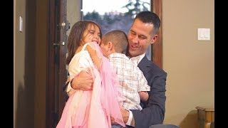 Baby so Happy when Daddy Come Home -  Cute Baby Reaction to Daddies Coming Home