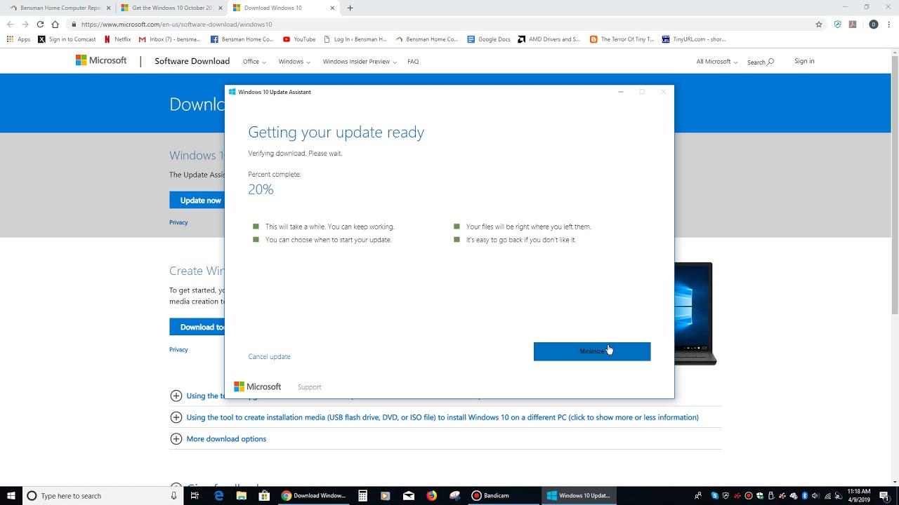 How To Update Windows 10 To The Latest Version – Bensman
