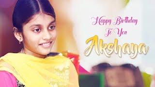 Happy Birthday to you Baby AKSHAYA