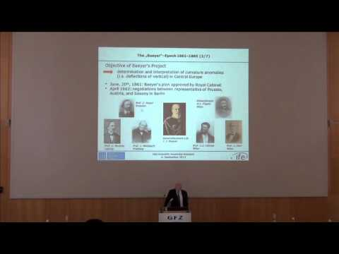 1862 to 1916 - Regional Project to International Organization - Wolfgang Torge
