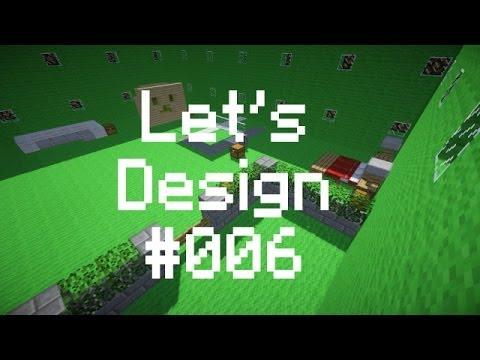 Let S Design Minecraft 006 Creeper Wand Tischtennis Youtube