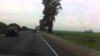 Driving through California (Fresno County)