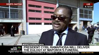 Maponya Funeral | President Ramaphosa to deliver eulogy at Maponya's funeral
