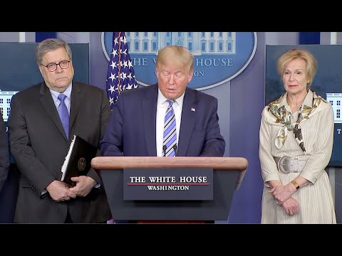 Trump: US, Open For Business Again Soon; Order Makes It Crime To Stockpile Supplies | NTD