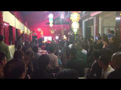 Ca sỹ Lương Gia Huy hát đám cưới.1