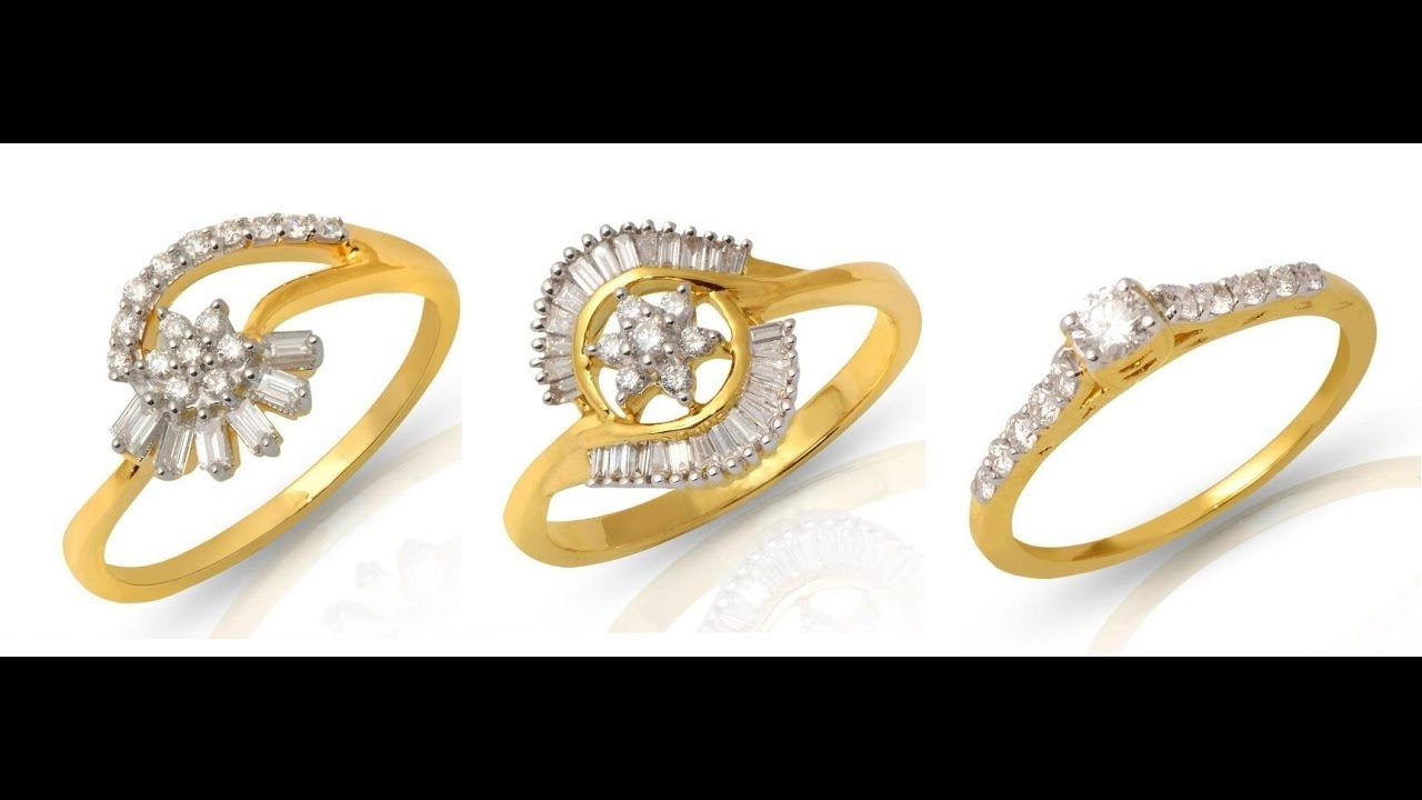 Gold Ring New Design | Latest Designs Of Gold Rings For Womens ...