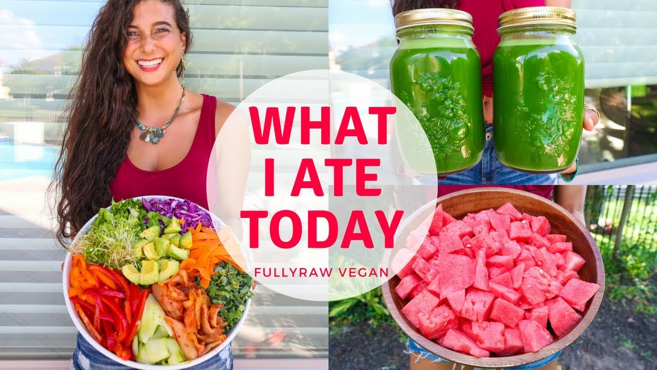 What I Ate Today Raw Vegan Summer Recipes Tea Shrooms
