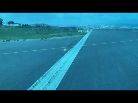 'Hélity' aterriza en Melilla y espera ofrecer el primer vuelo en 7 días
