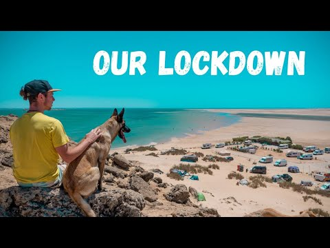 A DAY IN THE ISOLATION CAMP // Van Life Lockdown Morocco [S04E07]