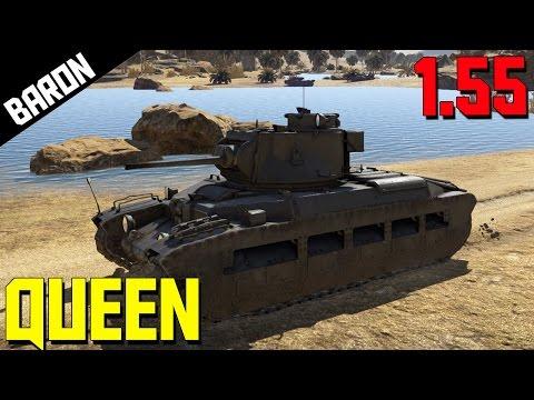 Drama Queen of the Desert, Matilda Heavy Tank - War Thunder 1.55