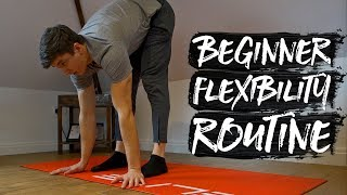 15 Minute Beginner Flexibility Routine! (FOLLOW ALONG)
