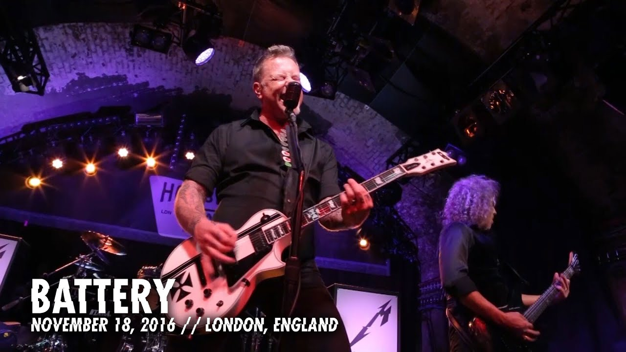 Metallica: Battery (London, England —  November 18, 2016)