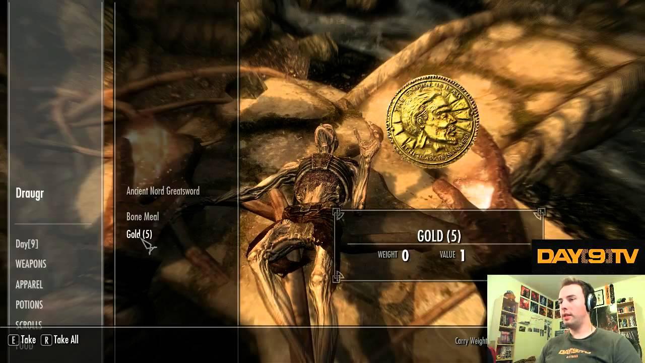 Day9 plays Elder Scrolls V: Skyrim - Part 5