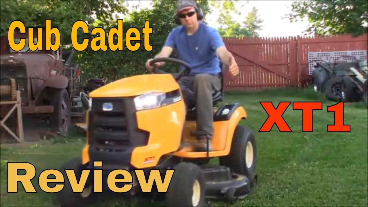 Cub Cadet XT1 Review: 50 inch 24 HP Lawn Tractor