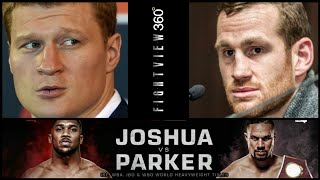 UPDATE! POVERTKIN PRICE ON JOSHUA VS PARKER! PROMOTER CONFIRMS! WILDER TO BE BYPASSED FOR WINNER?
