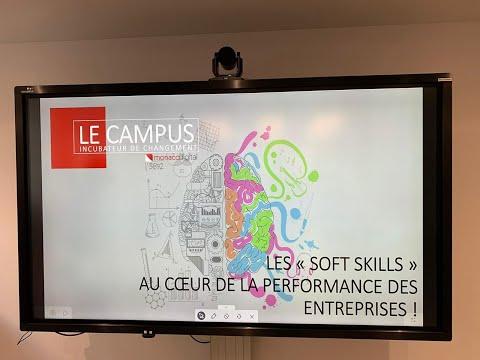Les softs skills au cœur du Campus Monaco Digital