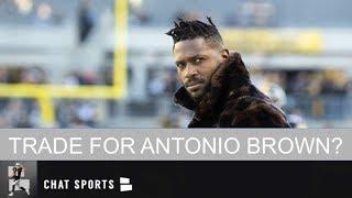 Oakland Raiders Rumors: Antonio Brown Trade, 2019 Hard Knocks, Drafting Greedy Williams
