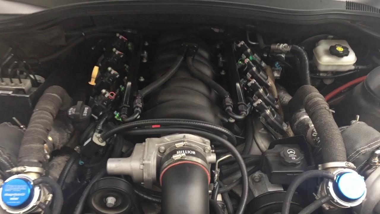 2011 Camaro 2SS w/Hellion Twin Turbo Kit