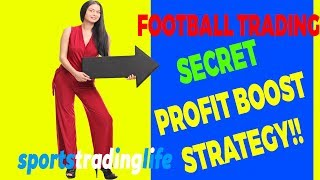 Secret  Betfair Football Trading Strategy - Back The Favourite Profit Boost!